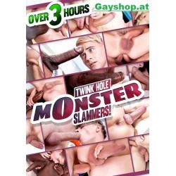Twink Hole Monster Slammers! DVD Black & White!