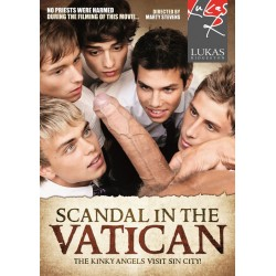 Scandal in the Vatican DVD Lukas Ridgeston Bareback