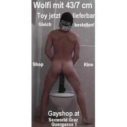 Dildo 47 cm Durchmesser 8 cm siehe Wolfis Warentest!